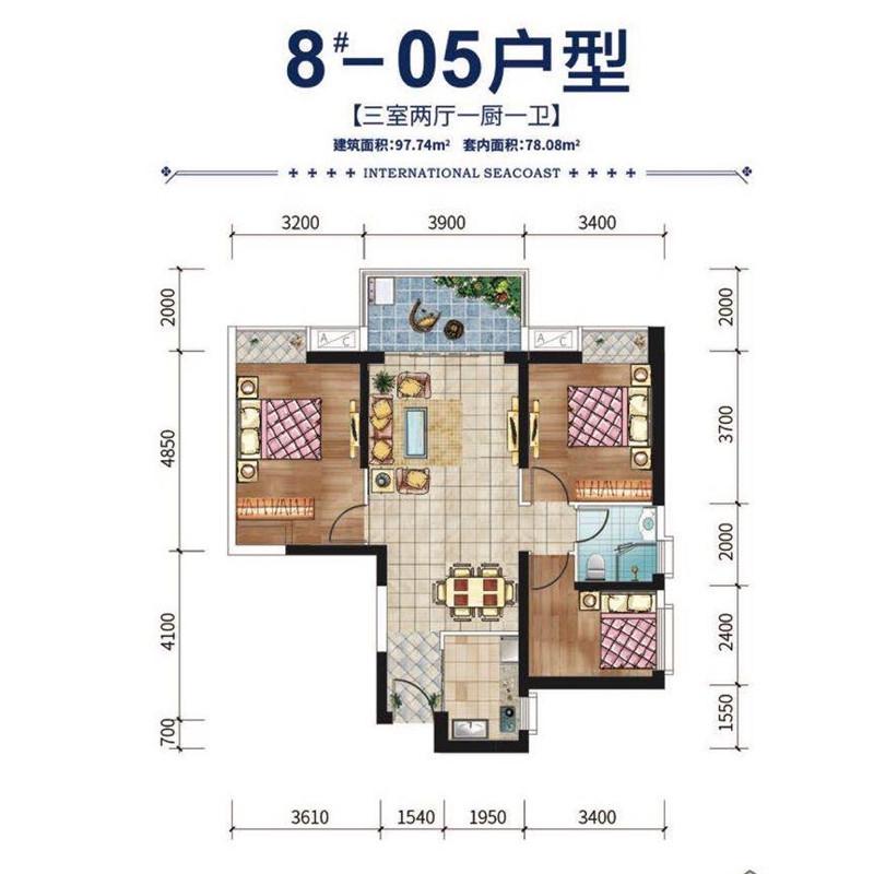 05户型3房2厅1厨1卫97.74平.jpg