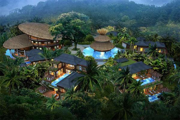 呀诺达那香山 热带雨林精装别墅均价42000元/平图片